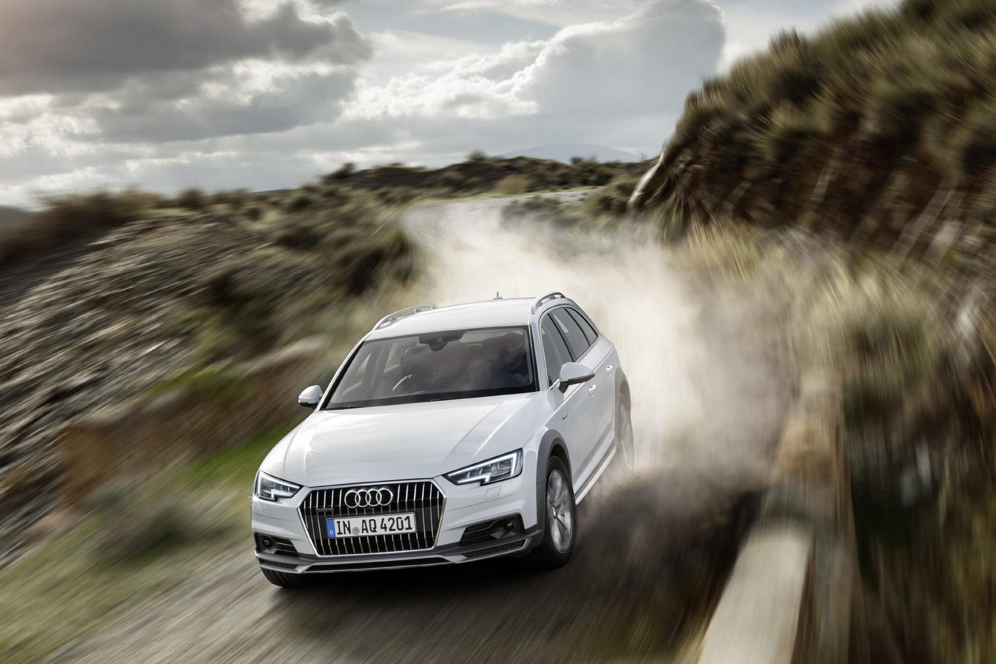 Audi A4 allroad quattro 2016 wallpaper