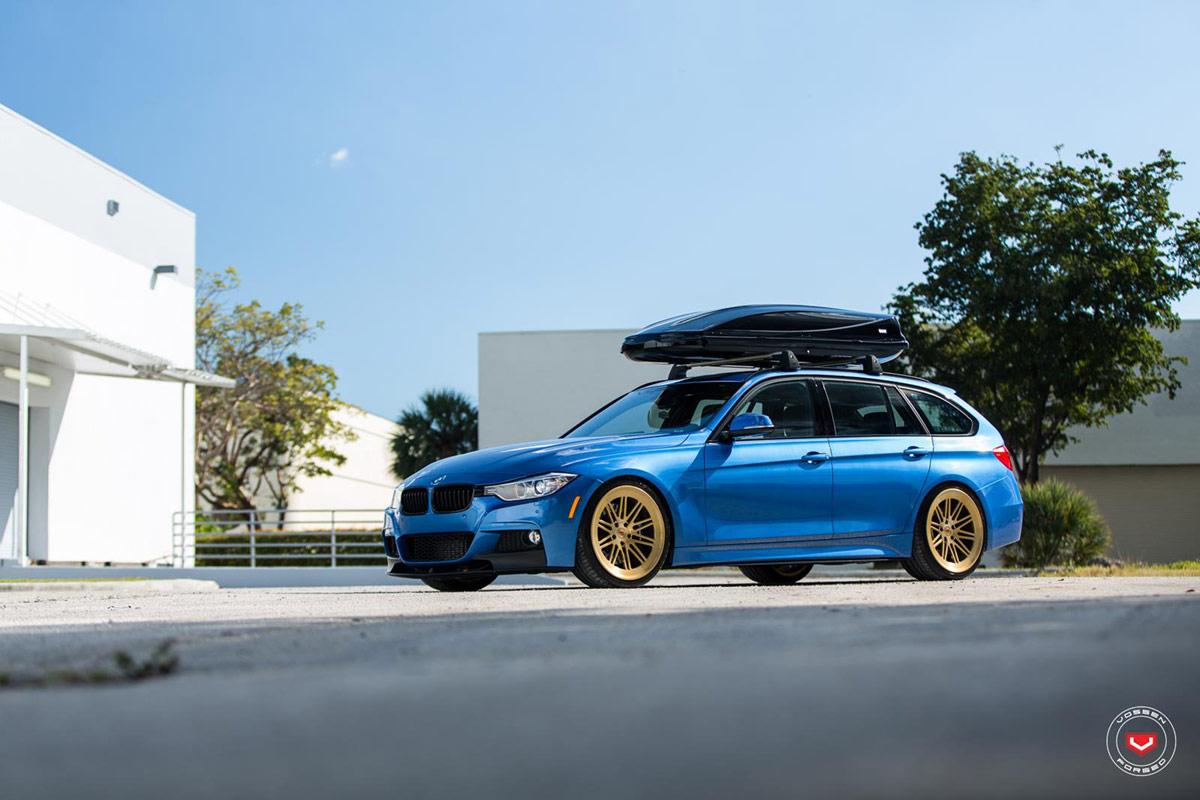 BMW 328i Touring mit 20 Zoll Alus von Vossen Wheels